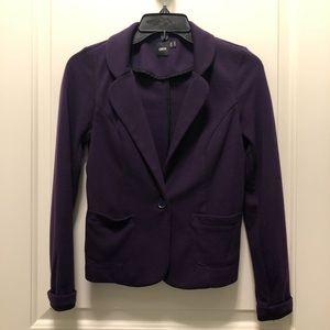 ASOS Purple Casual One Button Blazer 2 XS